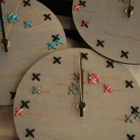 Tikitud ümmargused kellad
