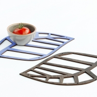 WOODEN LACE trivet - new collection