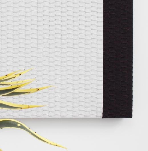 FLY STRIPE soundabsorber, beige+dark brown