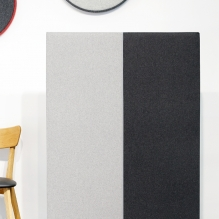 DUO sound absorbing room divider