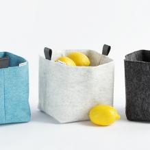 TRIO felt basket
